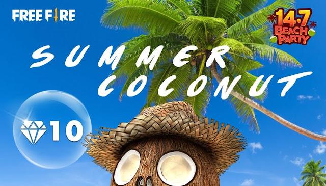 Event Terbaru Free Fire Beach Party Reward Utama Beach Lover Bundle