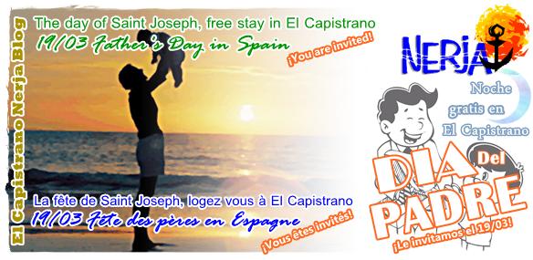 Celebra el Dia del Padre en El Capistrano Nerja Malaga Costa del Sol