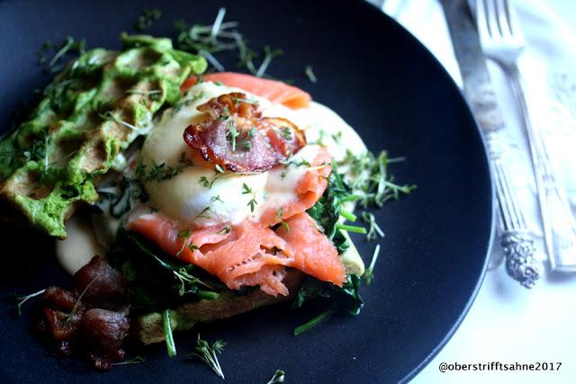 Eggs Benedict Florentine Royale
