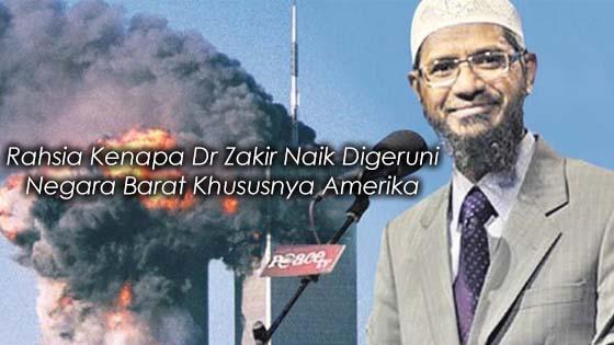 7 Sebab Dr Zakir Naik Ditakuti Negara Barat Terutama Amerika