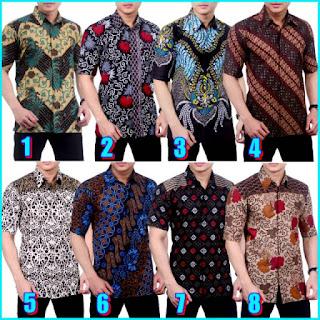 Kemeja Batik Pria A