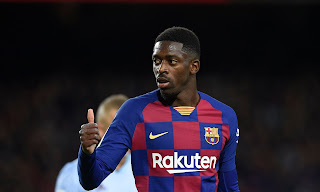 Manchester United weighing up a surprise move for Barcelona attacker Ousmane Dembele.