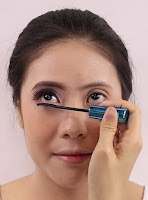 Use mascara to make your lower lashes more visible.