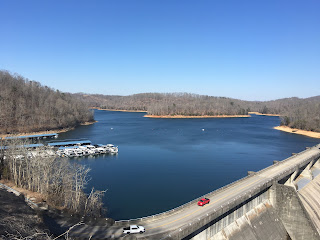 Norris Dam TN, in the winter is such a pretty place even with all the trees barren of leaves