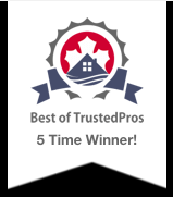 5 Time TrustedPros Winner TorontoCC