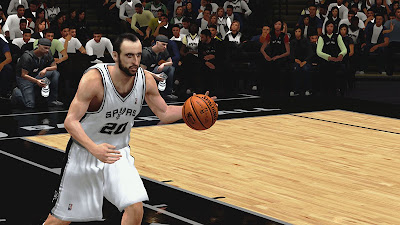 NBA 2K13 Manu Ginobili Spurs Playoffs Update