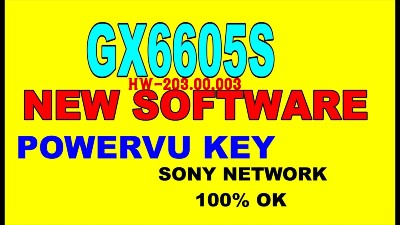 satellite receivers software Receivers Informations: F1 F2