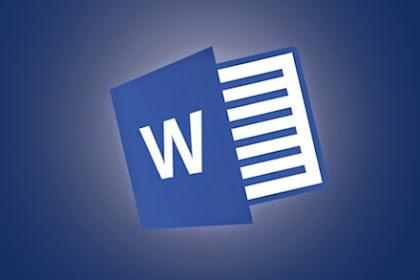 Fungsi dan Pengertian Microsoft Office Word untuk Anda Ketahui