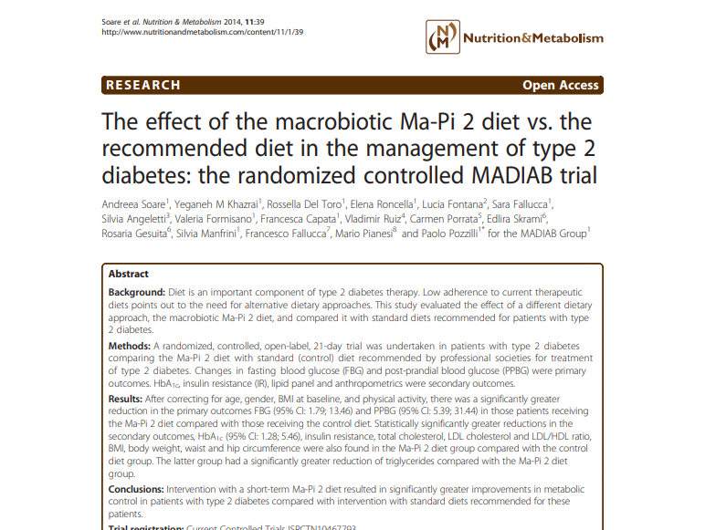 Menu dieta macrobiotica 13 dias