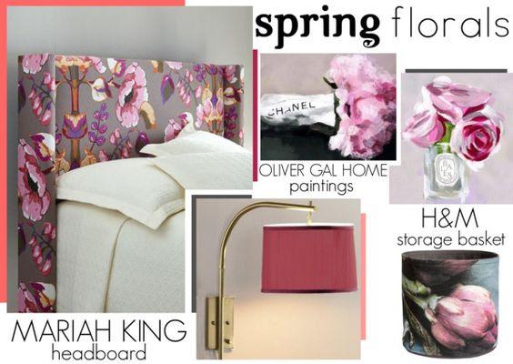 The Home Advantage - Spring Florals www.toyastales.blogspot.com #ToyasTales