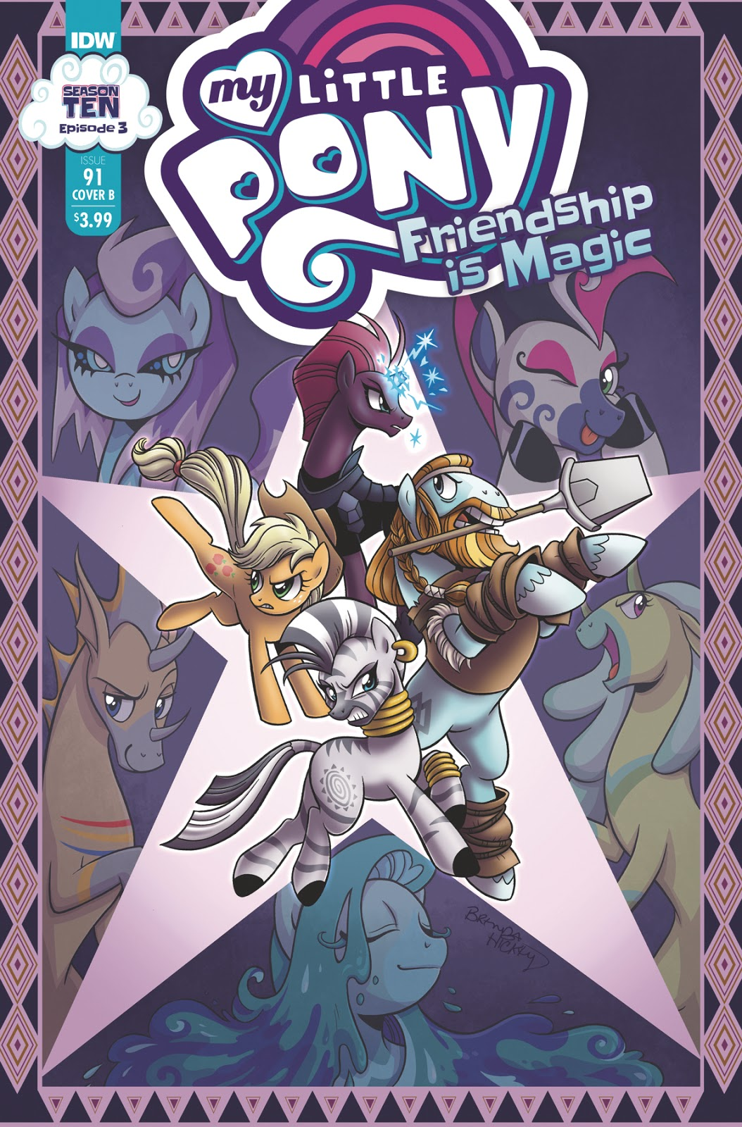 Equestria Daily Mlp Stuff Season 10 Comic My Little Pony Friendship Is Magic 91 Revealed Writer Synopsis And Artist