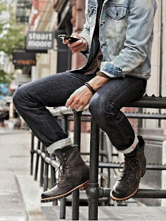 How to wear men's jeans Wednesday, Wednesday