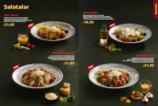 tavuk dünyası tavuklu salata menu fiyat