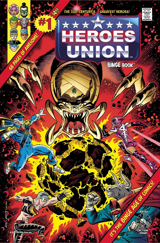 Heroes Union #1 The Cosmic Crusade