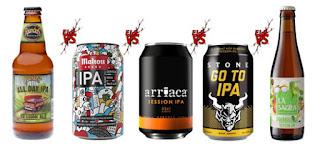 Elegir la mejor de estas 5 Cervezas Session IPA