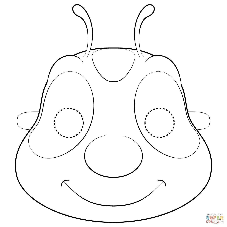 cara de gusano para imprimir