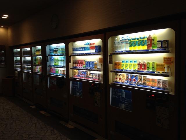 Advantages of a Vending Machine Business