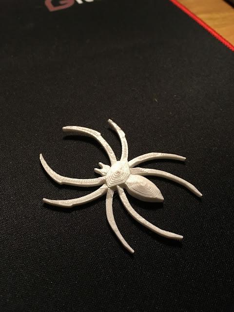 3D printed spider via foobella.blogspot.com