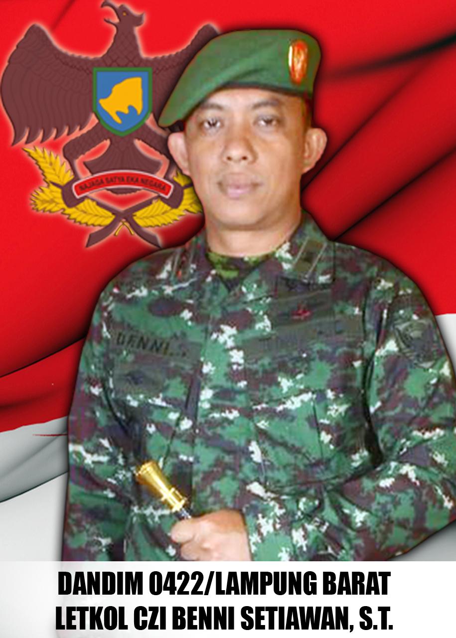 Dandim 0422/Lampung Barat