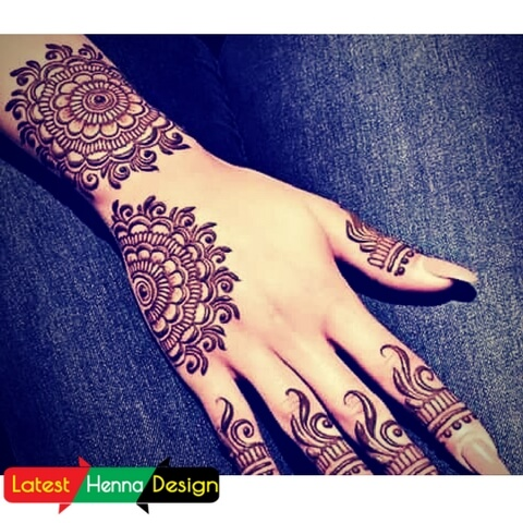 just for you grab it before someone copies the simple henna designs.