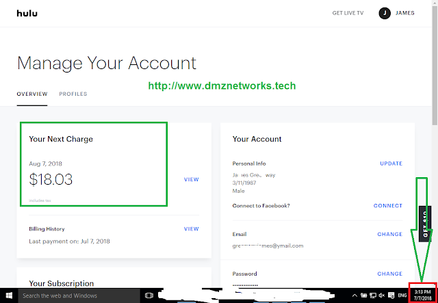 Hulu Premium Accounts by DMZ Networks 2018 100% Working with Proof