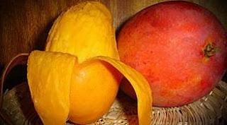 Foto de la fruta mango