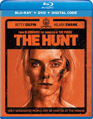 Blu-ray cover for THE HUNT (2020)!