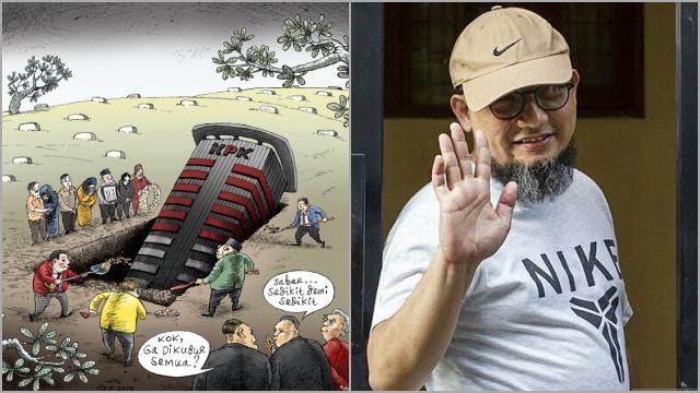 ICW soal Kabar Novel Baswedan Dipecat: Episode Akhir Pembunuhan KPK