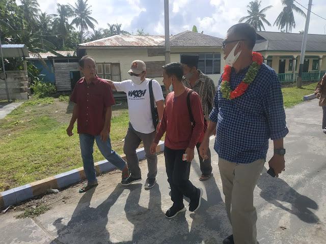 Paslon Bupati dan Wakil Bupati Natuna WS-RH Gelar Kampanye di Desa Seluan Barat dan Desa Kelarik Barat