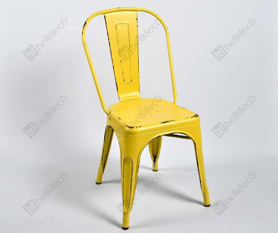 Yellow Chair, krzesło industrialne