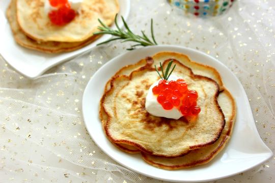 Bánh xếp Blini – Món bánh người Nga dành cho mùa Lễ Hội
