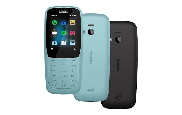 Ponsel Nokia 220 Dirilis Kembali dengan Dukungan 4G LTE
