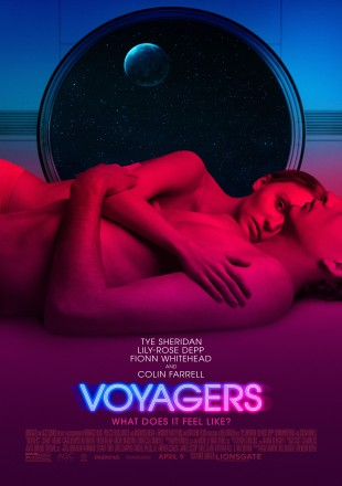 Voyagers 2021 English HDRip 480p 300Mb