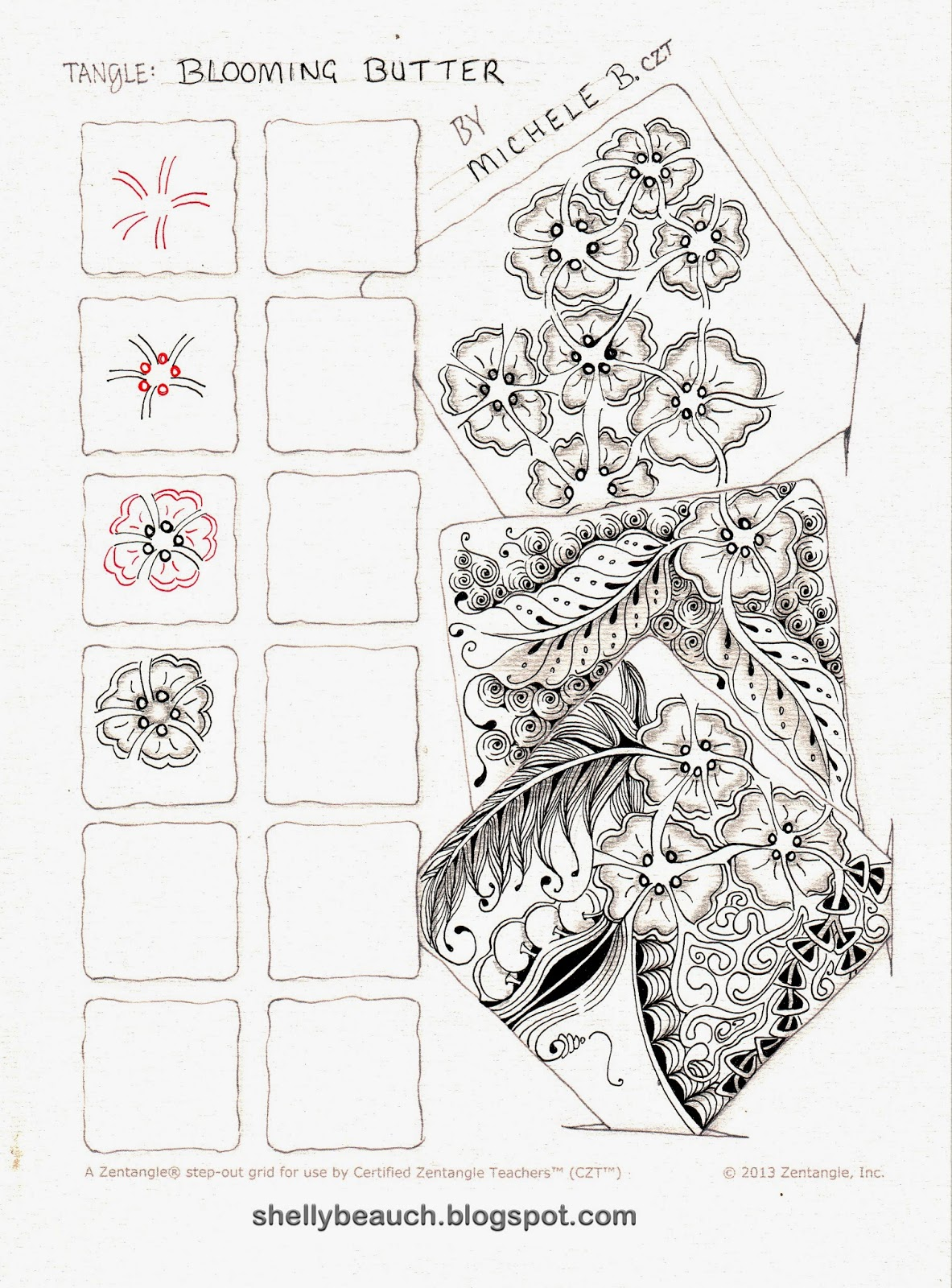 1000+ images about Zentangle Step-outs on Pinterest