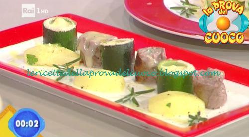 Involtini con marzolino zucchine e patate ricetta Fava da Prova del Cuoco