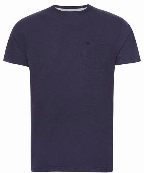 Primark online: camiseta Farrell en azul básica