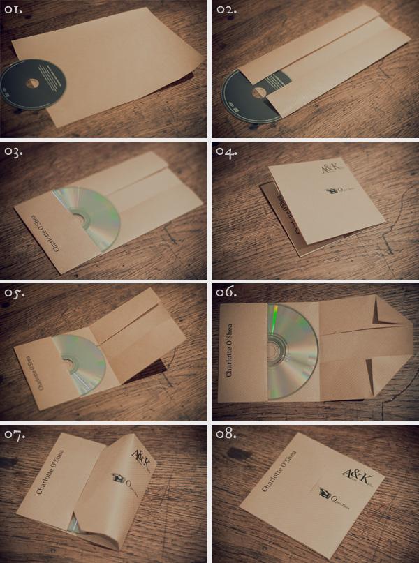 Fabulous Dies und Das und Irgendwas: Schnelle CD/DVD Hüllen aus Papier KN45