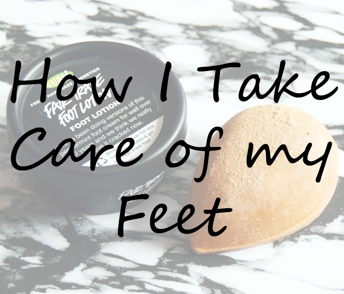 Lush feet products