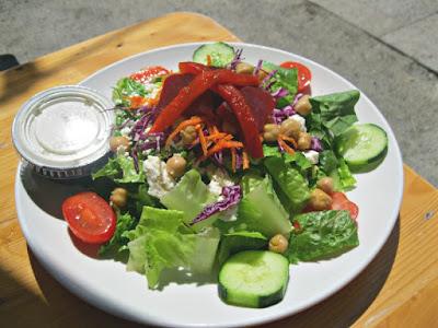 Brown Iron Brewhouse gluten free Village Salad