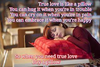 True love is like a pillow, true love latest quotes, true love status, status of the day