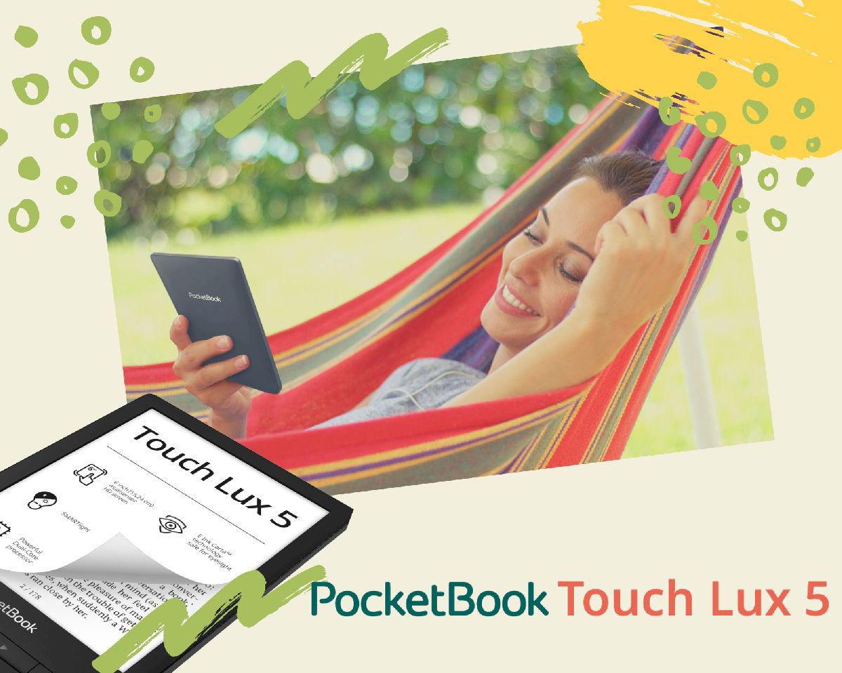 PocketBook Touch Lux 5 dostępny w sprzedaży