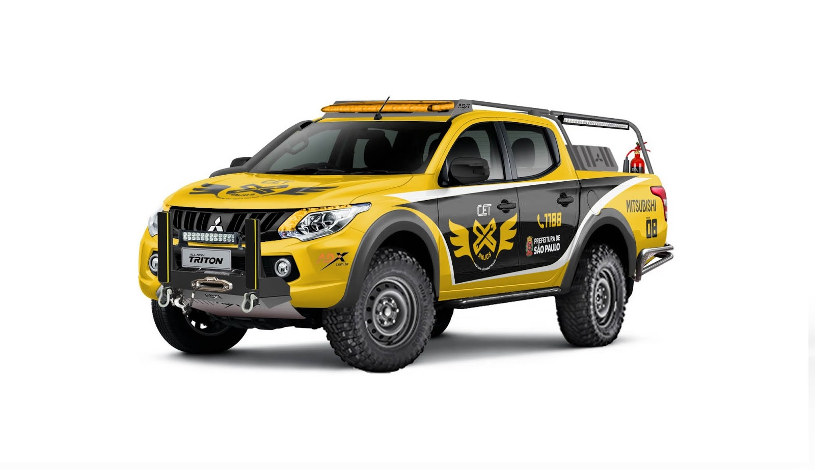 6c762d2c5 Mitsubishi Motors prepara L200 Triton Sport para programa