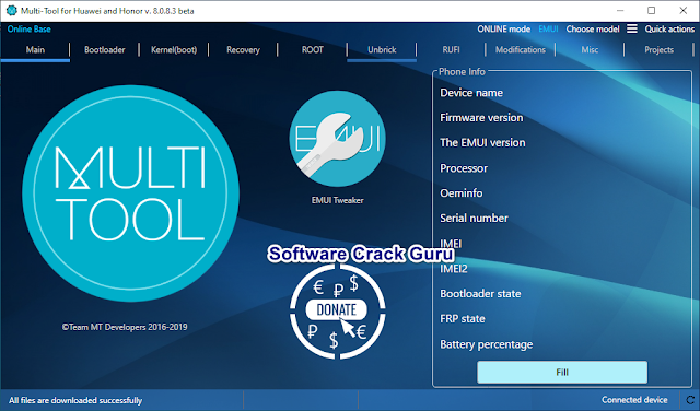 Multi Tool 2019 Special for Huawei & Honor New Version Setup V.8.0.8.3
