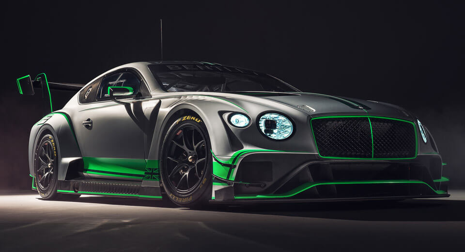 The Bentley Continental Makes for the World's Coolest GT3 vehicle