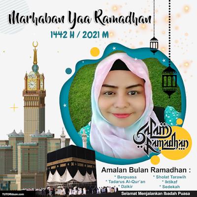 Template Twibbon Ramadhan 2021