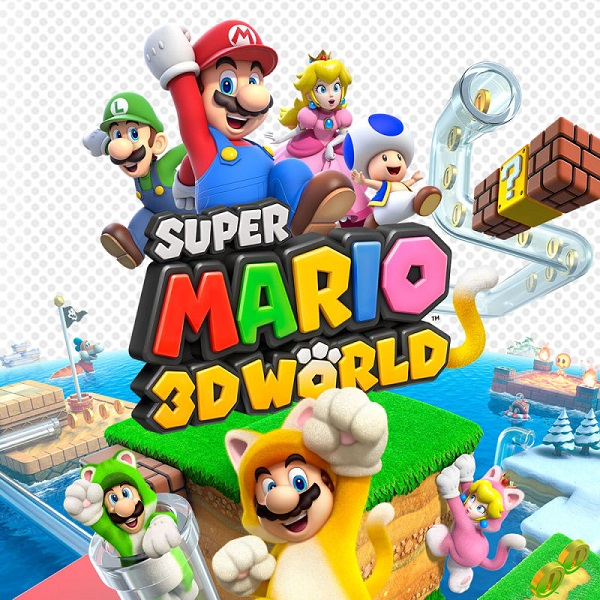Super Mario 3D World Front Game Cover