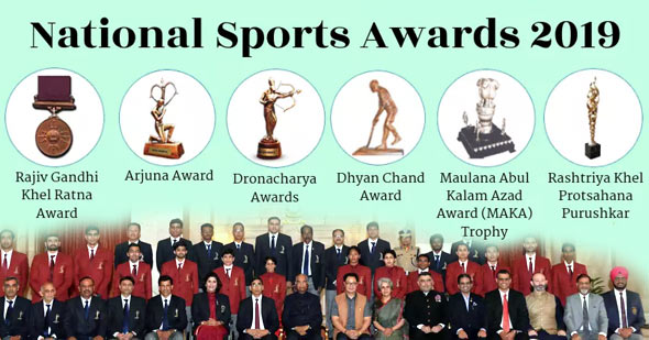 National Sports Awards 2019: Complete List of Winners PDF