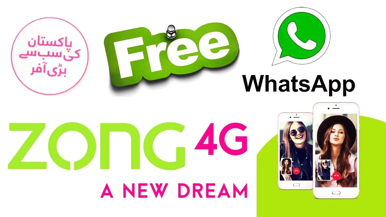Zong Whatsapp Packages 2020