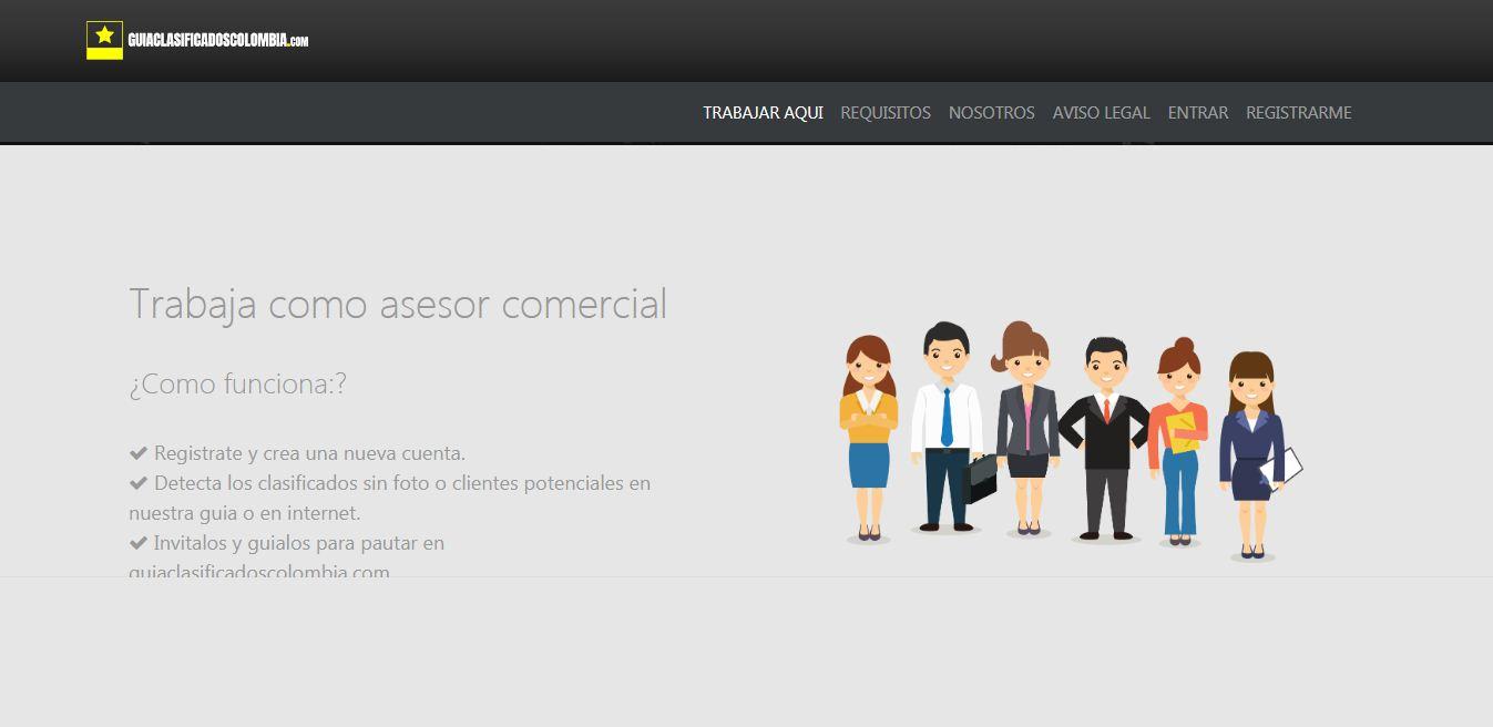 acceso.guiaclasificadoscolombia.co