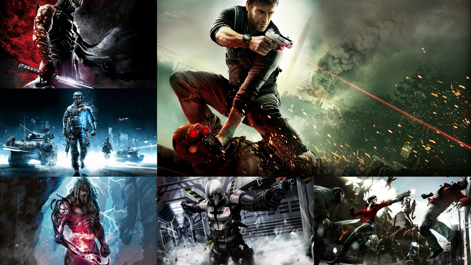 Download Beautiful HD Game Wallpapers Pack for Windows